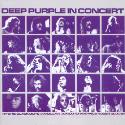 Livealbumin Deep Purple in Concert kansikuva