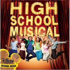 Soundtrack-albumin High School Musical kansikuva