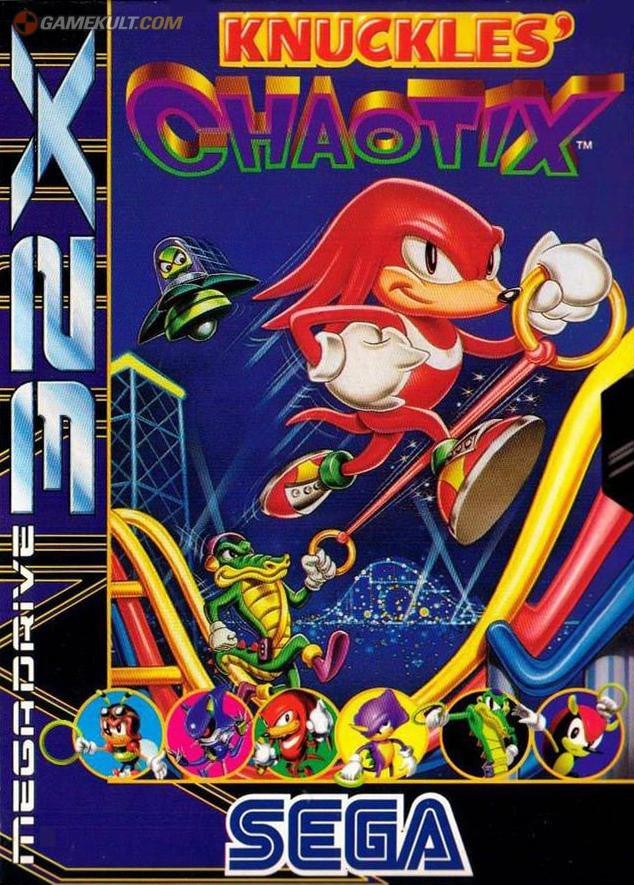 Knuckles Chaotix Wikipedia