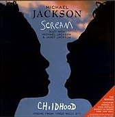 "Singlen ""Scream / Childhood"" kansikuva"
