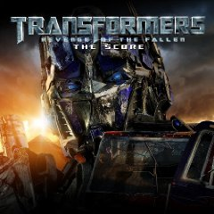 Soundtrack-albumin Transformers: Revenge of the Fallen – The Score kansikuva