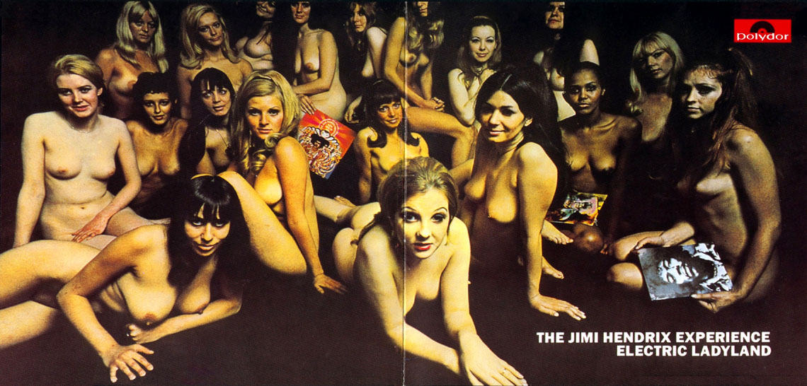 Jimi Hendrix's Banned 'Electric Ladyland' Album Cover