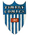 Timely Comicsin logo