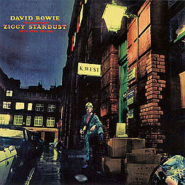 Studioalbumin The Rise and Fall of Ziggy Stardust and the Spiders from Mars kansikuva