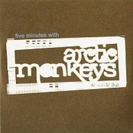"Singlen ""Five Minutes with Arctic Monkeys"" kansikuva"