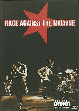 DVD-julkaisun Rage Against the Machine kansikuva