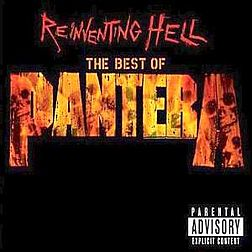 Kokoelmalevyn The Best of Pantera – Reinventing Hell kansikuva