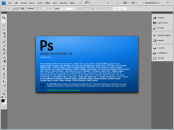 Adobe Photoshop CS4.