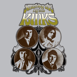Studioalbumin Something Else by The Kinks kansikuva