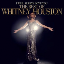 Kokoelmalevyn I Will Always Love You: The Best of Whitney Houston kansikuva