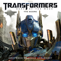 Soundtrack-albumin Transformers: Dark of the Moon – The Score kansikuva