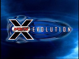 Sarjan X-Men: Evolution logo.