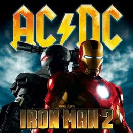 Soundtrack-albumin Iron Man 2 kansikuva