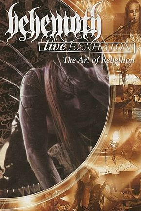 DVD-julkaisun Live Eschaton: The Act of Rebellion kansikuva