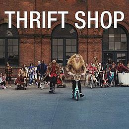 "Singlen ""Thrift Shop"" kansikuva"
