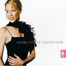 Kokoelmalevyn Confide in Me: The Irresistible Kylie kansikuva