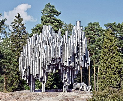How to get to Sibelius-Monumentti with public transit - About the place