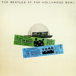 Livealbumin The Beatles at the Hollywood Bowl kansikuva