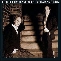 Kokoelmalevyn The Best of Simon & Garfunkel kansikuva