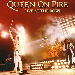 Livealbumin Queen On Fire – Live at the Bowl kansikuva