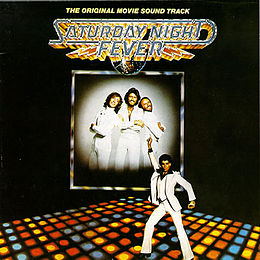 Soundtrack-albumin Saturday Night Fever: The Original Movie Sound Track kansikuva