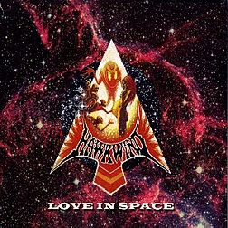 Livealbumin Love In Space kansikuva