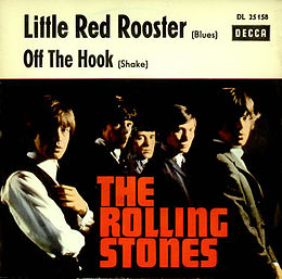 "Singlen ""Little Red Rooster"" kansikuva"