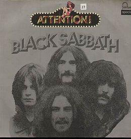Attention black sabbath volume one black sabbath