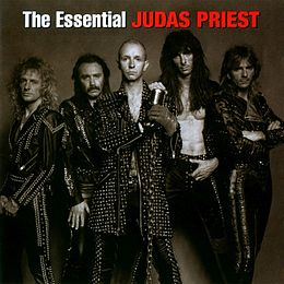 Kokoelmalevyn The Essential Judas Priest kansikuva