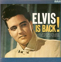 Studioalbumin Elvis Is Back! kansikuva