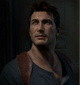 Nathan Drake videopelissä Uncharted 4: A Thief's End.