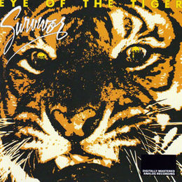 Studioalbumin Eye of the Tiger kansikuva