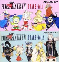 EP:n Final Fantasy VI Stars Vol. 1Final Fantasy VI Stars Vol. 2 kansikuva