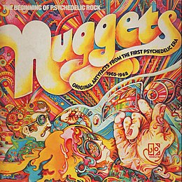 Kokoelmalevyn Nuggets: Original Artyfacts from the First Psychedelic Era, 1965–1968 kansikuva