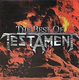 Kokoelmalevyn The Best of Testament kansikuva