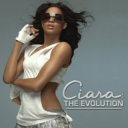 Studioalbumin Ciara: The Evolution kansikuva