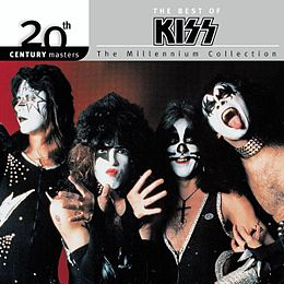 Kokoelmalevyn The Best of Kiss: The Millennium Collection kansikuva