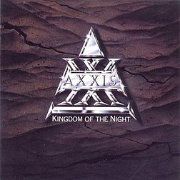 Studioalbumin Kingdom of the Night kansikuva
