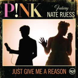 "Singlen ""Just Give Me a Reason"" kansikuva"