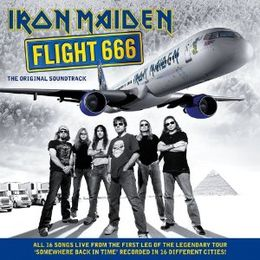 Soundtrack-albumin Flight 666 – The Original Soundtrack kansikuva