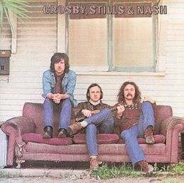 Studioalbumin Crosby, Stills, and Nash kansikuva