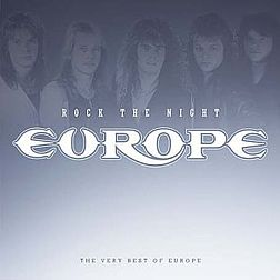 Kokoelmalevyn Rock the Night: The Very Best of Europe kansikuva