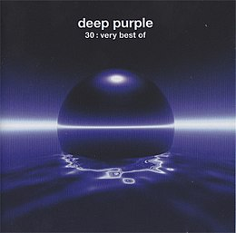 Kokoelmalevyn 30 Very Best of Deep Purple kansikuva