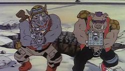 Rocksteady ja Bebop.