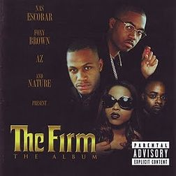 Studioalbumin The Firm: The Album kansikuva