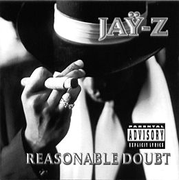 Studioalbumin Reasonable Doubt kansikuva