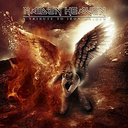 Tribuuttialbumin Maiden Heaven: A Tribute to Iron Maiden kansikuva