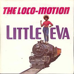 "Singlen ""The Loco-Motion"" kansikuva"