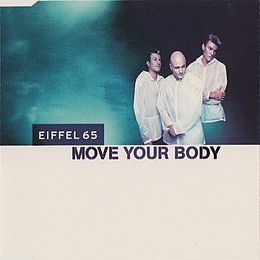 "Singlen ""Move Your Body"" kansikuva"