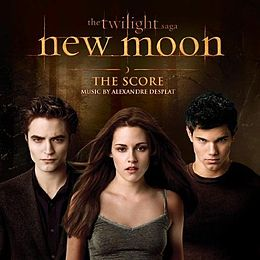 Soundtrack-albumin New Moon: The Score kansikuva